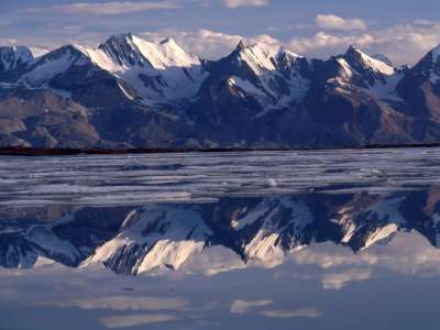 Mirror Image in Greenland