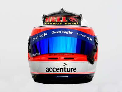 Driver Helmet from Rubens Barrichello