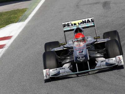 Formula 1 - Mercedes - Michael Schumacher