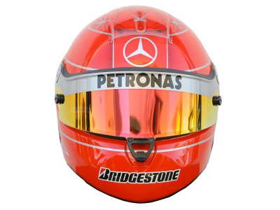 Michael Schumacher Helmet from Front