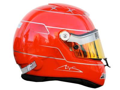 Michael Schumacher Helmet from Side