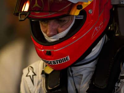 Michael In The Garage In Jerez