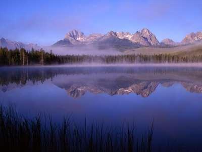 Morning At Little Redfish Lake in Idaho