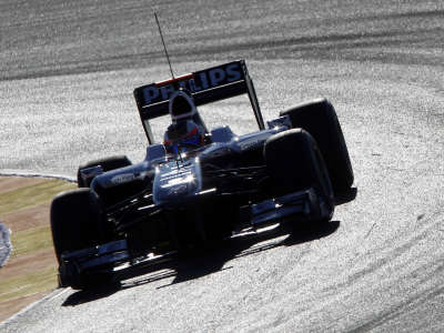 Rubens Barrichello Williams F1