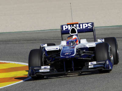 Rubens Barrichello Williams FW32 Cosworth