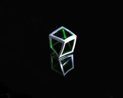 Green and Gray Box