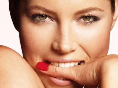 Jessica Biel Closeup