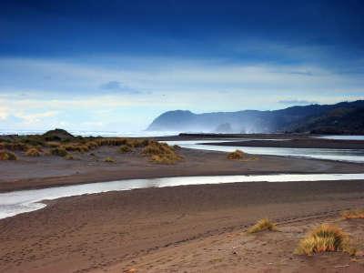 River in Desert Land