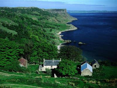 Benvane Farm Overlooking Murlough Bay Northern Ireland