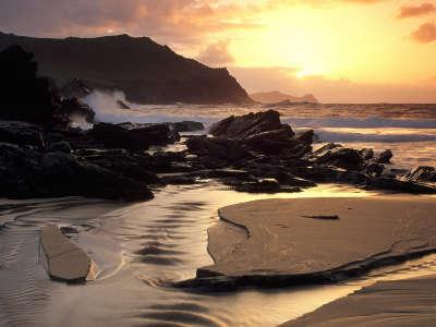 Clogherhead Beach Dingle Peninsula County Kerry in Ireland