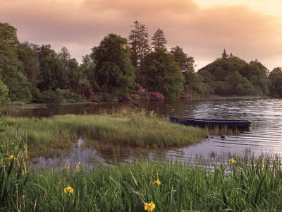 Gentle Dock County Donegal in Ireland