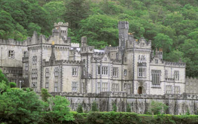 Kylemore Abbey Connemara County Galway in Ireland