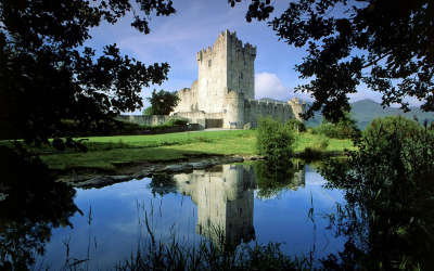 Ross Castle Killarney in Irelands National Park