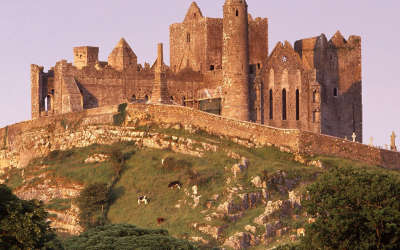The Rock Of Cashel in County Tipperary  ofIreland