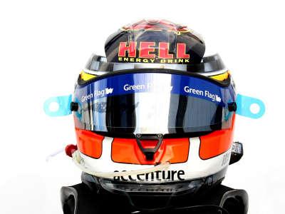 Rubens Barrichello Helmet Front