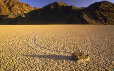 Desert And Hill