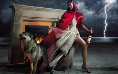 Eva Mendes - Campari Calendar