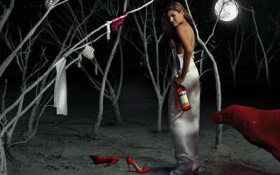 Eva Mendes Campari Calendar