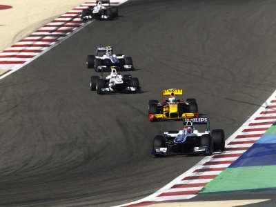 Williams F1 Bahrain 2010