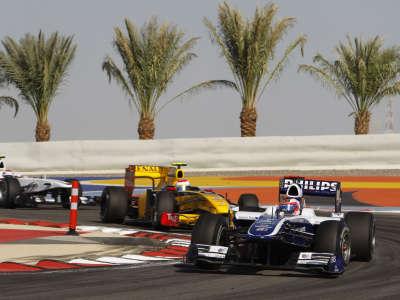 Williams F1 Bahrain Race 2010