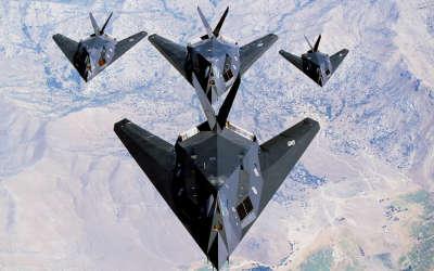 USAF F117 Nighthawk