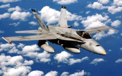 USMC FA 18 Hornet
