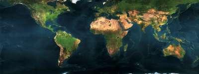 Earth Map World