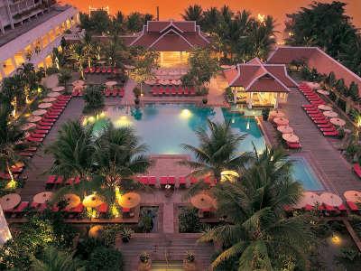 Summer Resort At Dawn