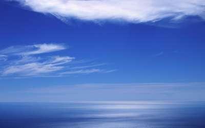 Blue-Sea Horizon