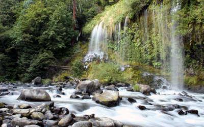 Mossbrae Waterfalls