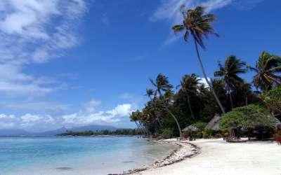 Polynesian Sand Beach