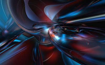 3D Fluid Abstract