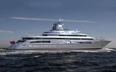 Blohm + Voss MY X Exploration Yacht 1