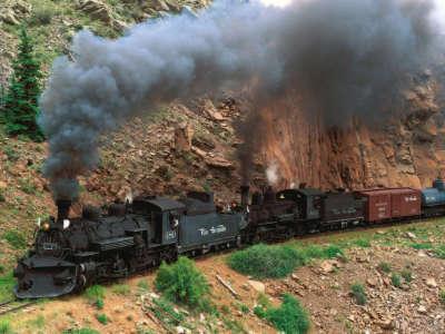 Cumbres And Toltec Steam Train Colorado