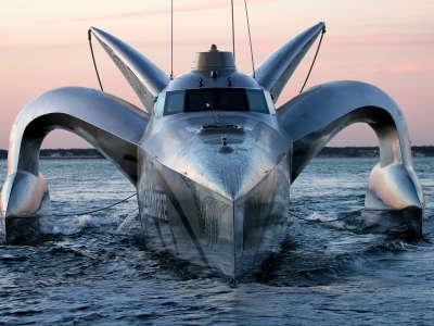 Earthrace Yacht