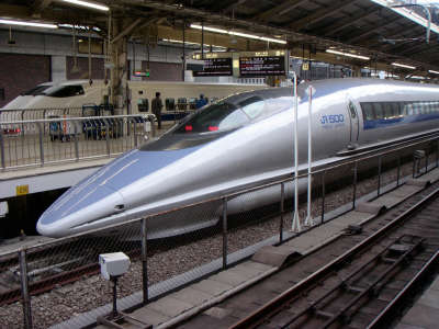 Japanese Shinkansen Train