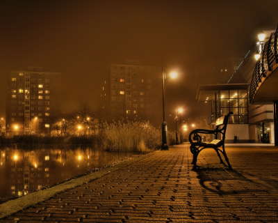 River and Bench