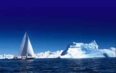 Yacht In Ice