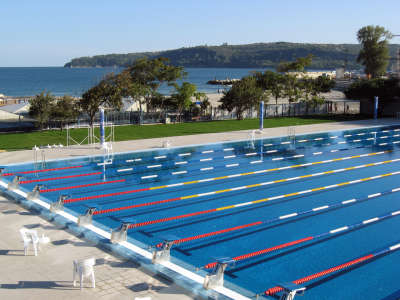 Olympian Swimming Pool in Varna