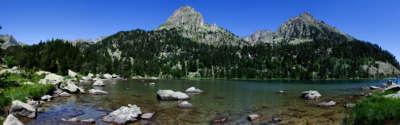 Estany De Ratera Mountain