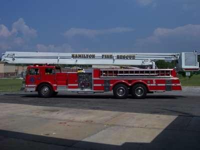 Fire Brigade Big Truck