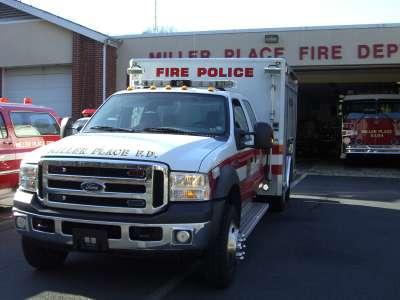 Fire Police Van