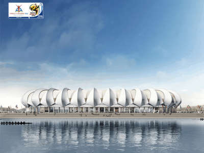 World Cup Stadium At Day