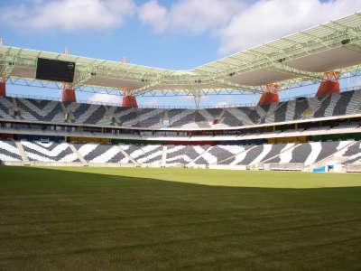 Stadium inside