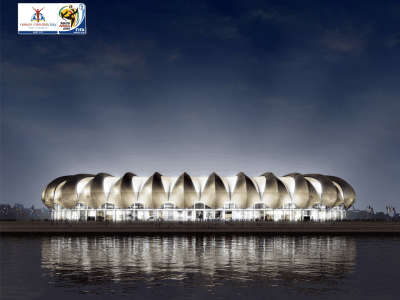 World Cup Stadium at Night