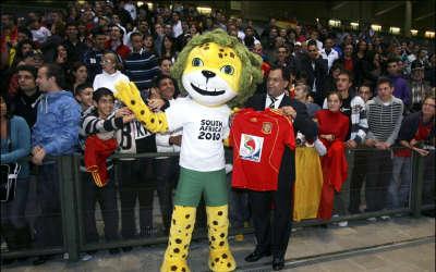 Zakumi Mascot