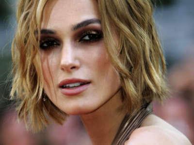 Keira Knightley Closeup