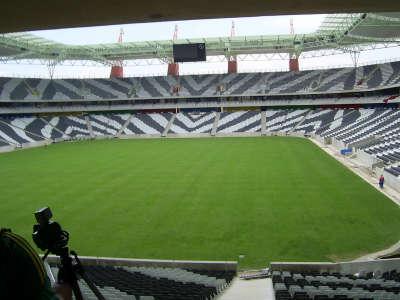 Seats And Field Of Mbombela Stadium