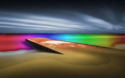 Colorized Ocean