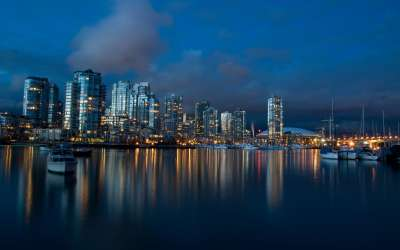 Vancouver ad Dusk